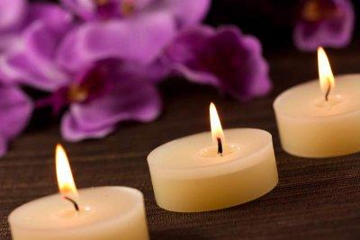 Ambiente mit Kerzen